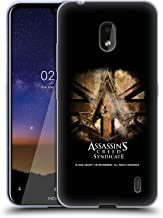 Official Assassin's Creed Gold Shilling Necklace Syndicate Logo Art Soft Gel Case Compatible for Nokia 2.2