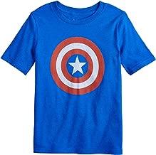 Jumping Beans Little Boys' 4-12 Captain America Shield Tee