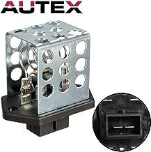 AUTEX Manual HVAC Blower Motor Resistor Compatible with Ford Contour,Mercury Mystique 95-00,Ford Focus 01-10,Ford Gt 05-06,Mercury Cougar 99-02 JA722 6R1037