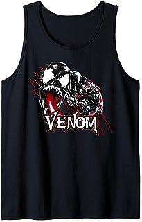Marvel Venom Character Profile Scratch Badge Débardeur