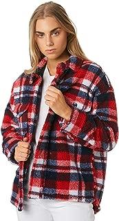 The Hidden Way Women's Astra Oversized Check Jacket Wool Acrylic