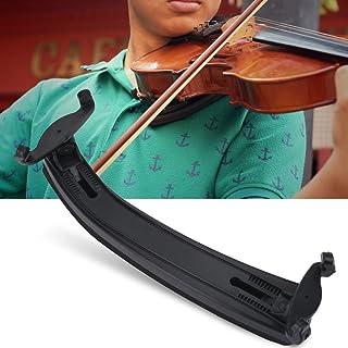 Dilwe Violin Shoulder Rest for 3/4 4/4 Violin, Adjustable Hard Plastic Violin Shoulder Rest Pad with Soft EVA Foam