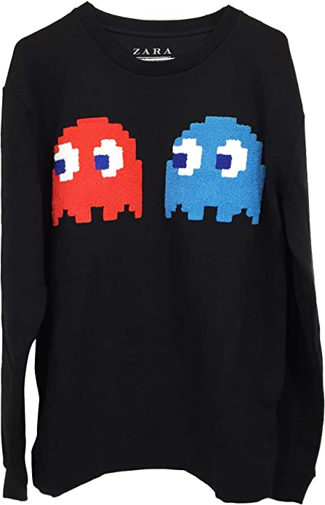 Zara Pacman Bandai Namco 5644/401/800 - Camiseta para hombre ...