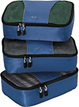 eBags Small Classic Packing Cubes for Travel - Organizers - 3pc Set