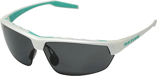 Pearl White/Gray Polarized Lens