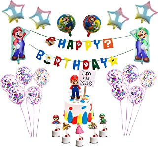 Best mario birthday cake toppers Reviews