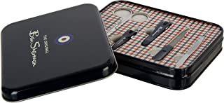 Ben Sherman BE3010 Everything You Might Need 5- Piece Nail Grooming Set with Beautiful Tin Case