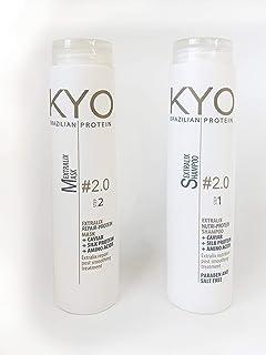 KYO Brazilian Protein Extralix Shampoo & Mask Protein & Kaviar Hair treatment
