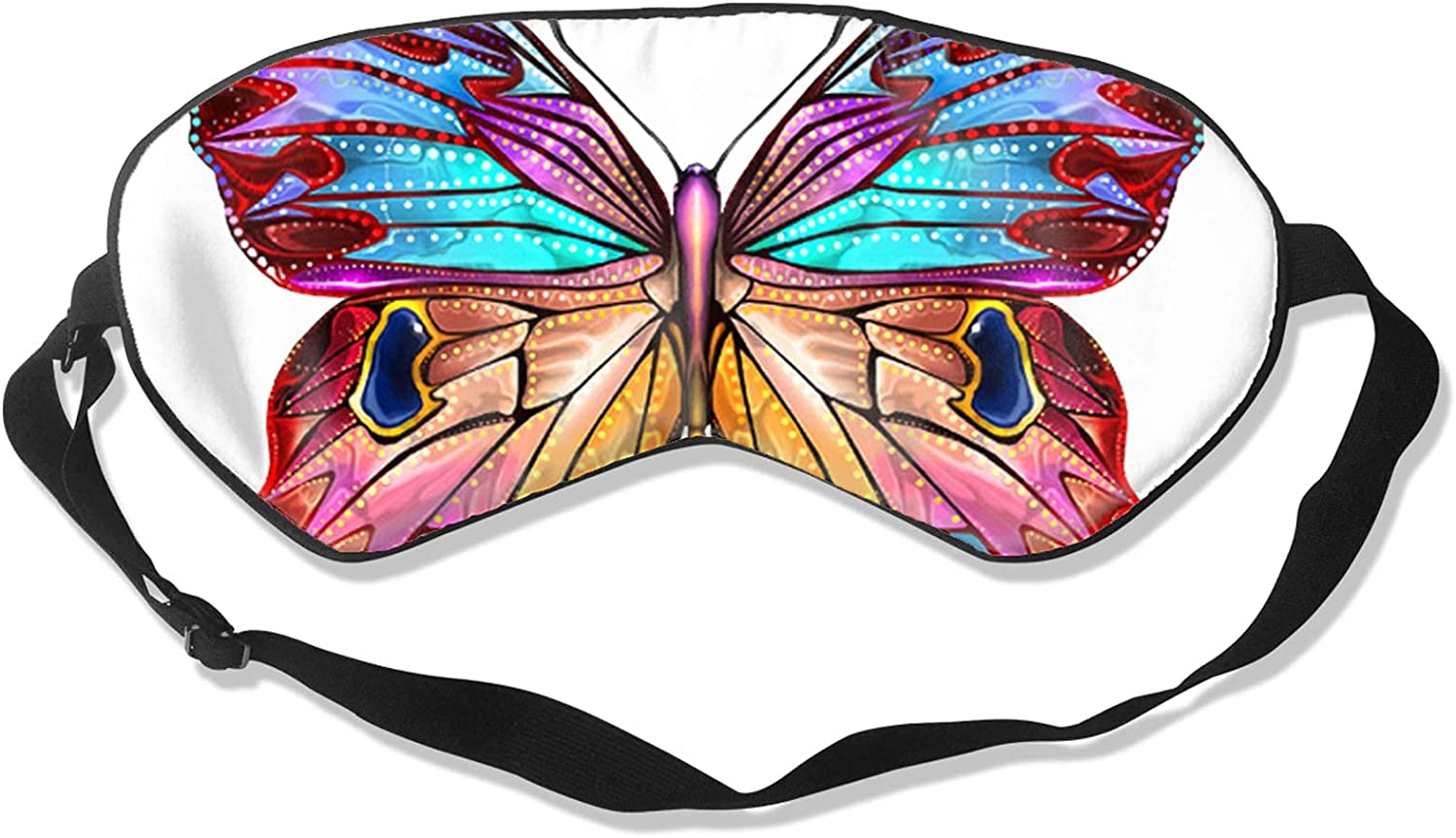 Colorful Butterfly Limited Special Price Soft Sleeping Cover Mask All stores are sold Eye Block-Light