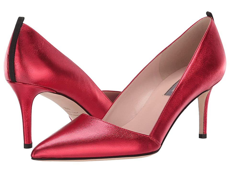 SJP by Sarah Jessica Parker Rampling 70 (Poison Red Nappa) Women