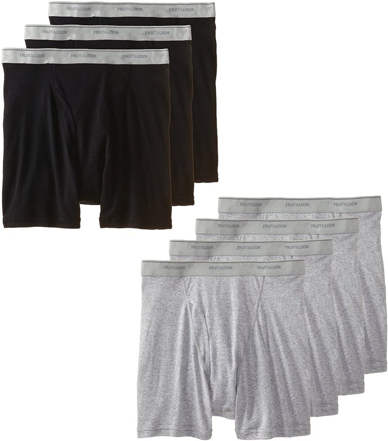Fruit of the Loom Men's A surprise price Clearance SALE! Limited time! is realized Pack 7 brief boxer