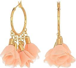 Rose Small Hoop Earrings