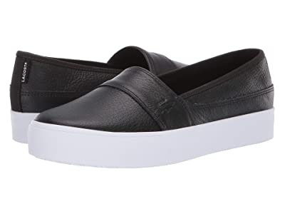 Lacoste Marice Plus Grand 319 1 (Black/White) Women