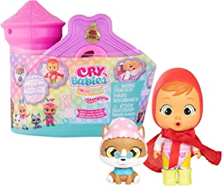 Cry Babies Magic Tears Storyland - Story House Series | 10 Surprise Accessories, Surprise Doll | Kids Age 3+