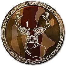 DipLidz Engraved snuff lid Deer Mount