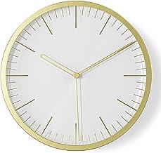 Umbra Infinity wall clock, Matte Brass