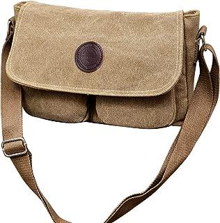 Bageek Men Messenger Bag Fashion Retro Shoulder Bag Crossbody Bag Satchel Bag for Office