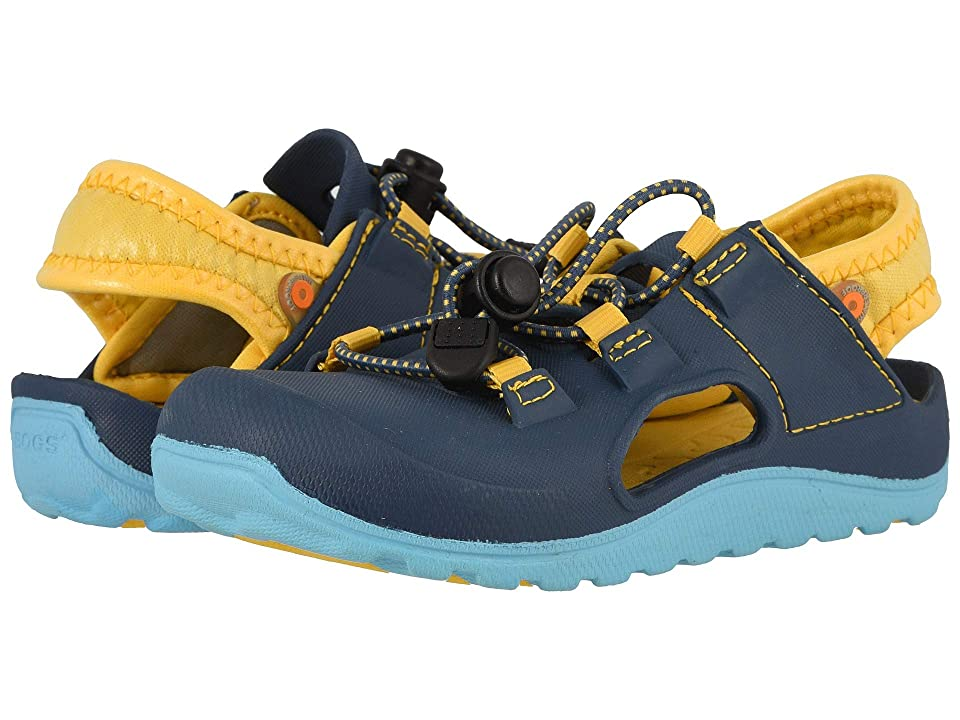 Bogs Kids Flo Sandal (Toddler/Little Kid) (Blue Multi) Boys Shoes
