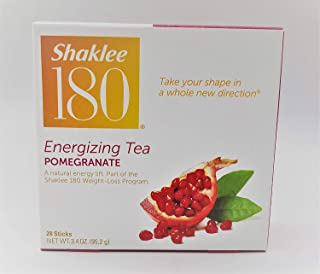 Shaklee 180 Energizing Tea Pomegranate 28 Sticks