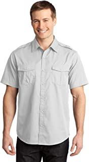 Port Authority Men's Stain Resistant Short Sleeve Twill Shirt