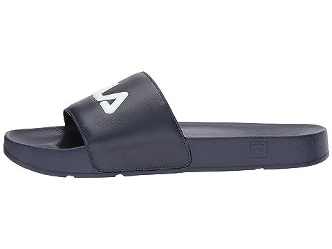 Blanco Fila Rojo Fila Navy Drifter Fila qwTX41