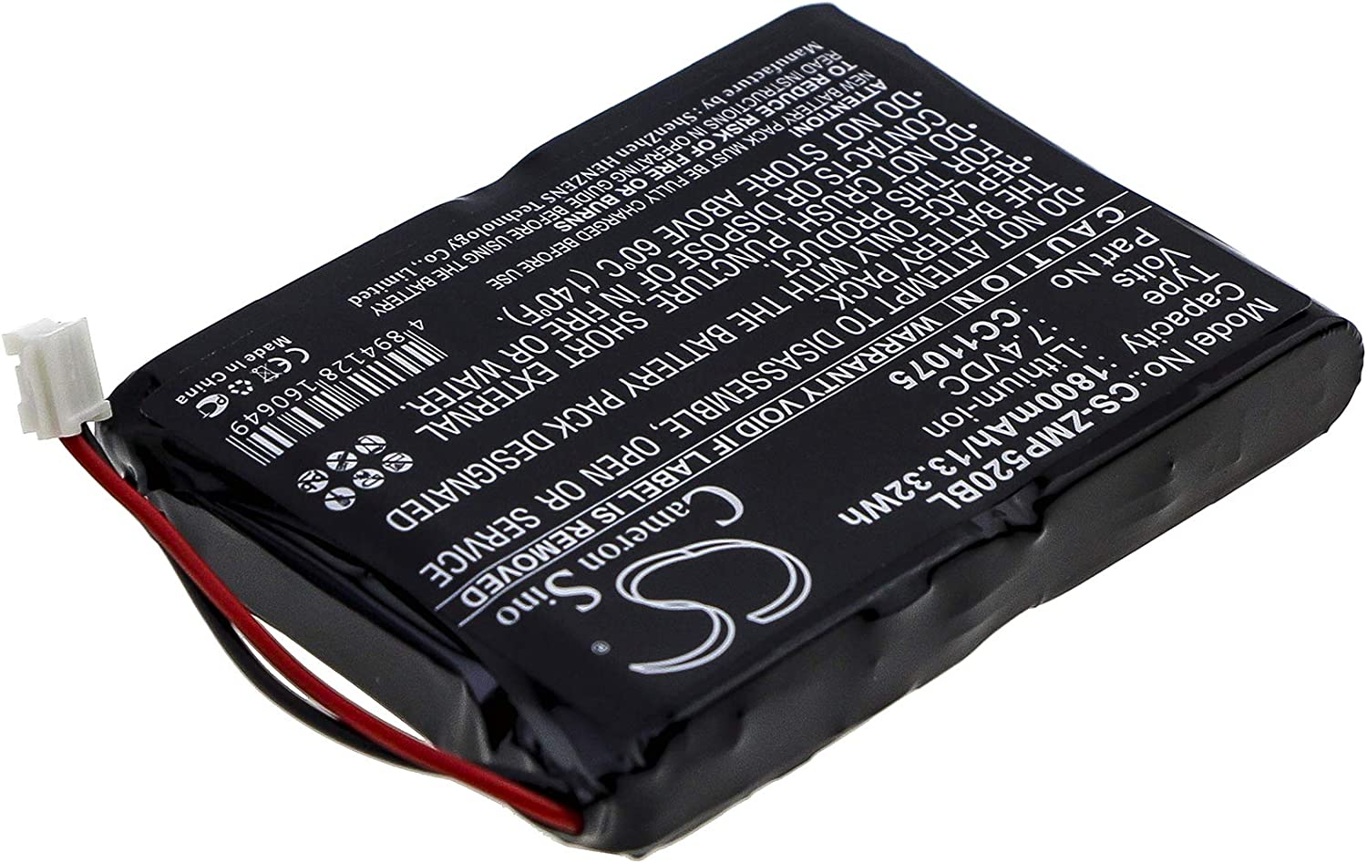 Discount mail order Battery Genuine Compatible with Monarch MP5020 CC11075 MP5030 MP5022