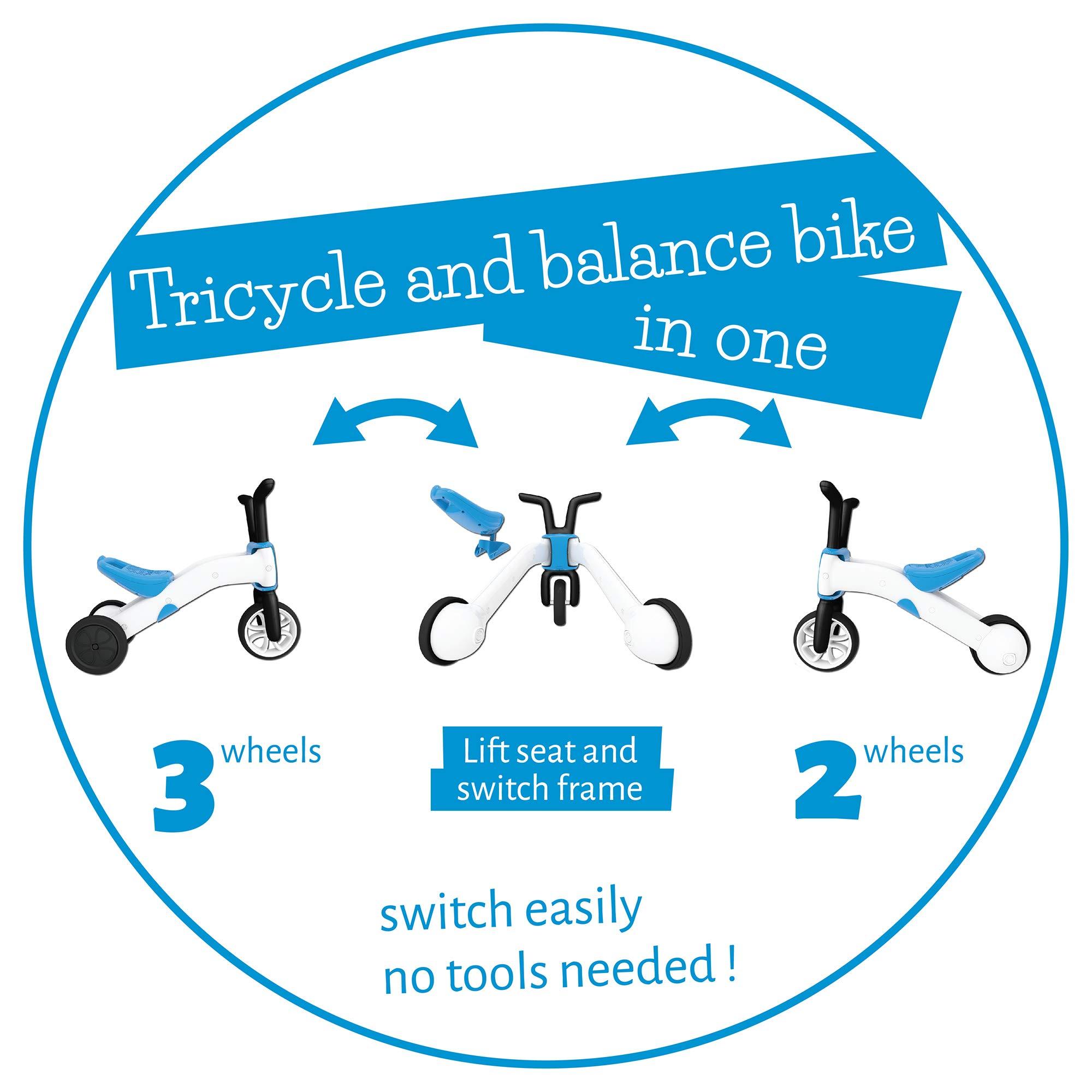 Chillafish - BMXie Balance Ride-on correpasillos y Bicicleta 2 en ...