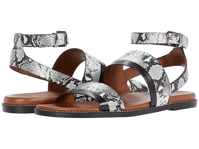 Naturalizer  Kelsie (White Snake) Womens Shoes