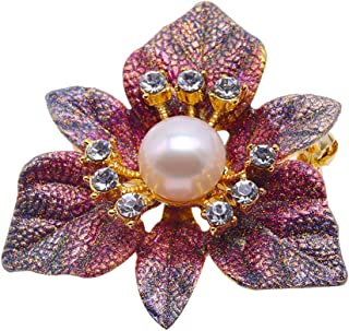 YRUI Brooch for Ladys Diamond Style Brooch Pins Scarves Shawl Clip Brooches Jewelry Gift for Women Vintage