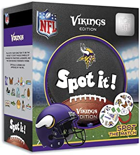 MasterPieces NFL Spot It! Minnesota Vikings Edition