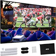 Best average projector screen size Reviews