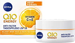 Nivea Q10 Energy Anti-rimpel Dagcrème LSF 15, 1 x 50 ml, 82322-01000-30
