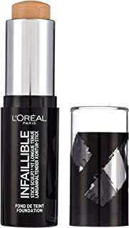 L'Oreal Paris Infallible Shaping Stick Foundation 180 Radiant Beige 9g