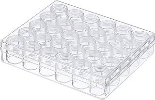 透明プラスチックジャー Migavan 貯蔵瓶30pcs 6グラム空の透明なプラスチック製のストレージボックスの瓶のボトルの容器