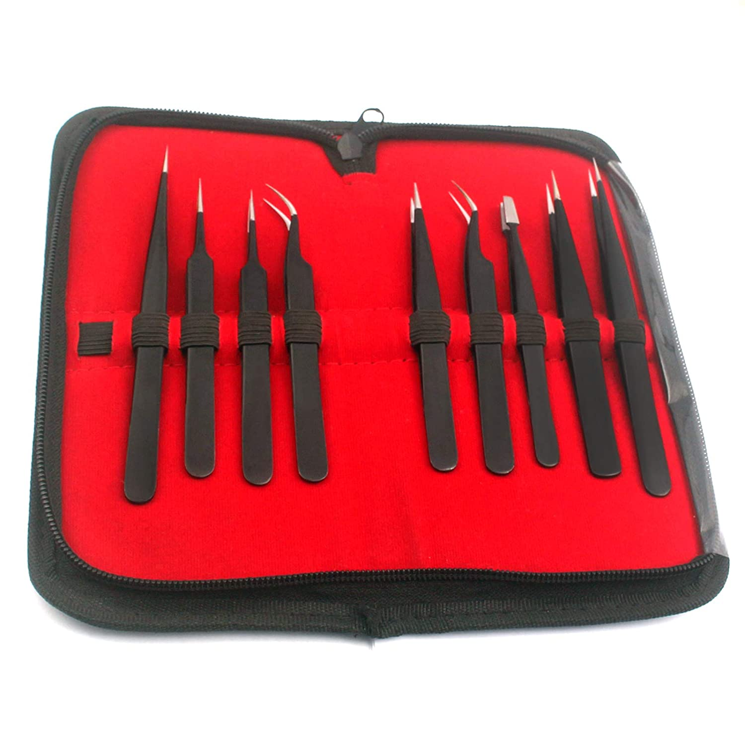 Precise Canada ESD Stainless Steel Kit Anti-S Precision Regular store Cheap bargain Tweezers