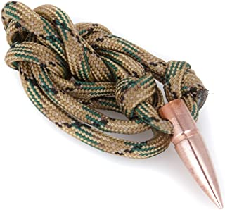 Genuine Once-Fired .308 Projectile Paracord Necklace