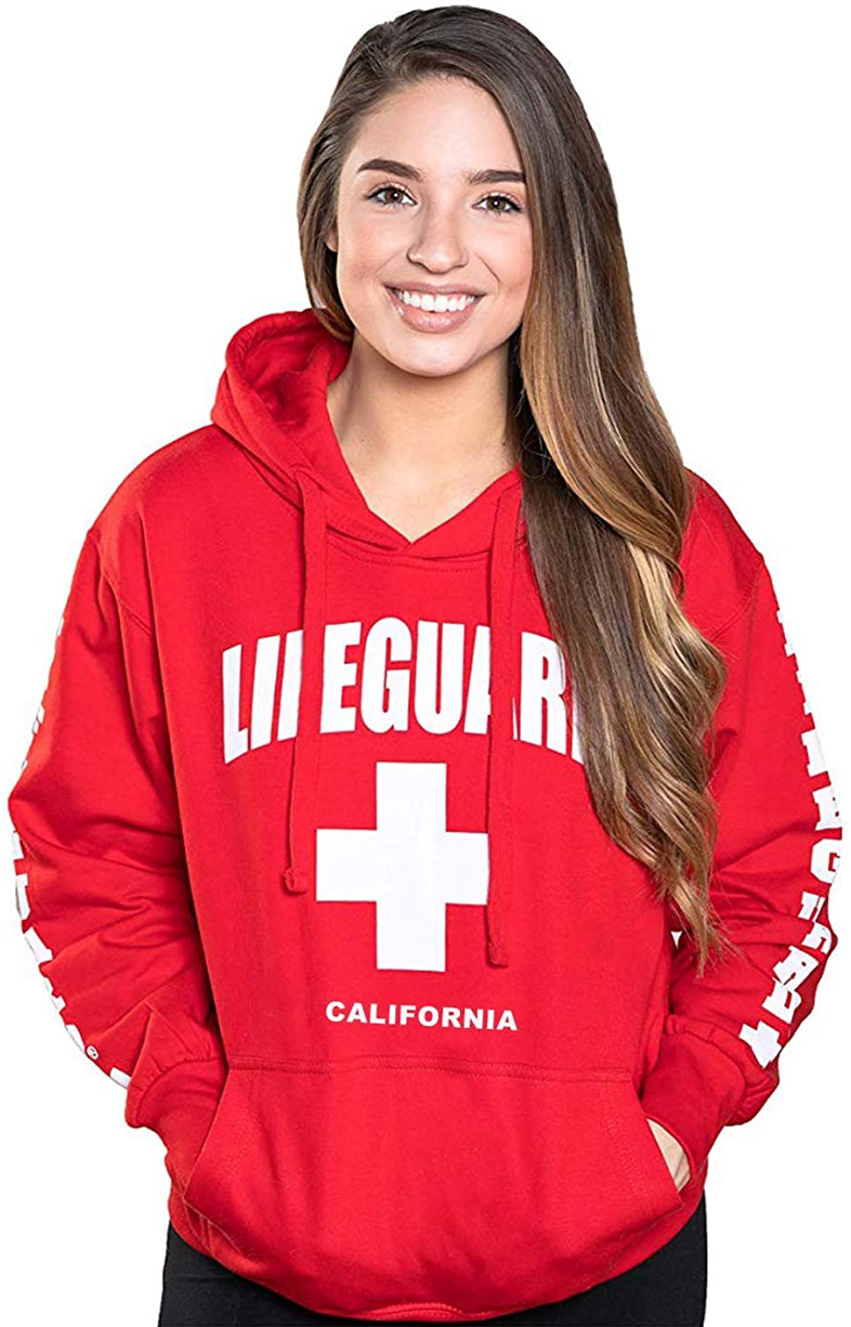 LIFEGUARD Officially Beauty Topics on TV products Licensed Ladies California Sweatshir Hoodie