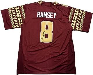 Autographed Jalen Ramsey Jersey - FSU - JSA Certified - Autographed College Jerseys