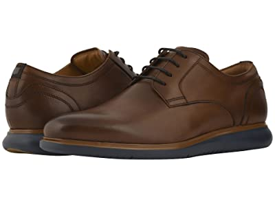 Florsheim Fuel Plain Toe Oxford (Cognac/Navy Sole) Men