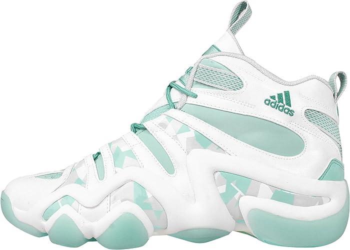 Adidas Crazy 8, Blanc   frozenmint   glacier gris, 9 M Us