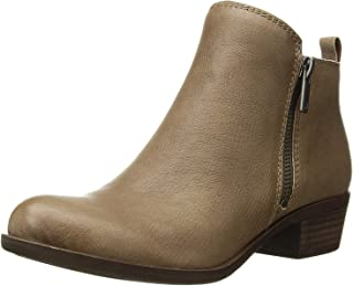 Lucky Brand Women's Basel Ankle Bootie, (بني فاتح), 7