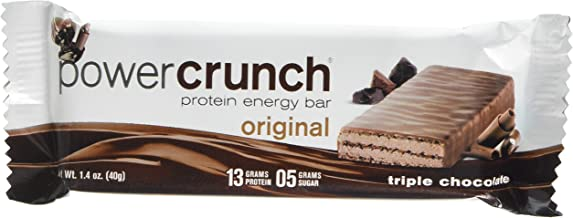 Power Crunch Triple Chocolate, Bar, 1.4 Ounce (12 Count)