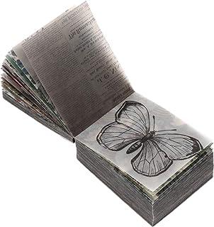 EXCEART 365 Feuilles Vintage Scrapbooking DIY Matériel Papier Nouvelles Papier Lettre Décoratif Antique Rétro Naturel Art ...