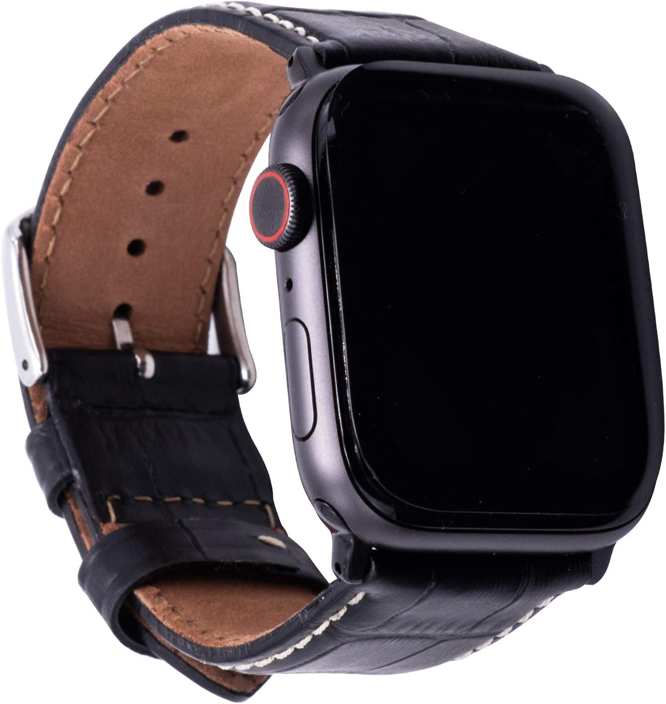 Leather Bands Compatible with Apple 42mm Phoenix Mall 44mm Crocodile Ranking TOP6 Watch Gr