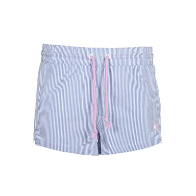 Champion Seersucker Shorts (Frontier Blue) Women