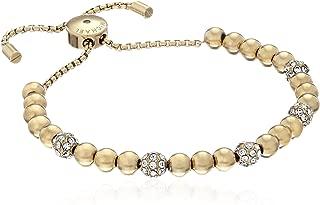 Women's Pave Beaded Slider Bracelet