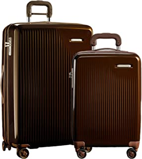 Briggs & Riley Sympatico 2-Piece Set: Intl Carry-On & Large Spinner (Bronze)