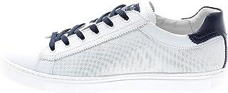 Nero Giardini Uomo P900861U Sneaker Pelle Bianca Fondo cassetto (40 EU)