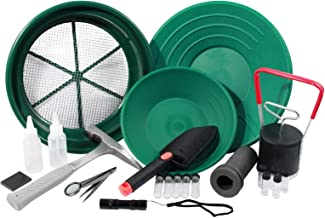 ASR Outdoor 22pc Complete Gold Prospecting Field and Clean Up Gold Panning Kit
