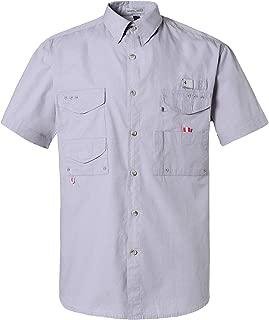 Short Sleeve Wicking Fabric Sun Protection Fishing Casual Shirts